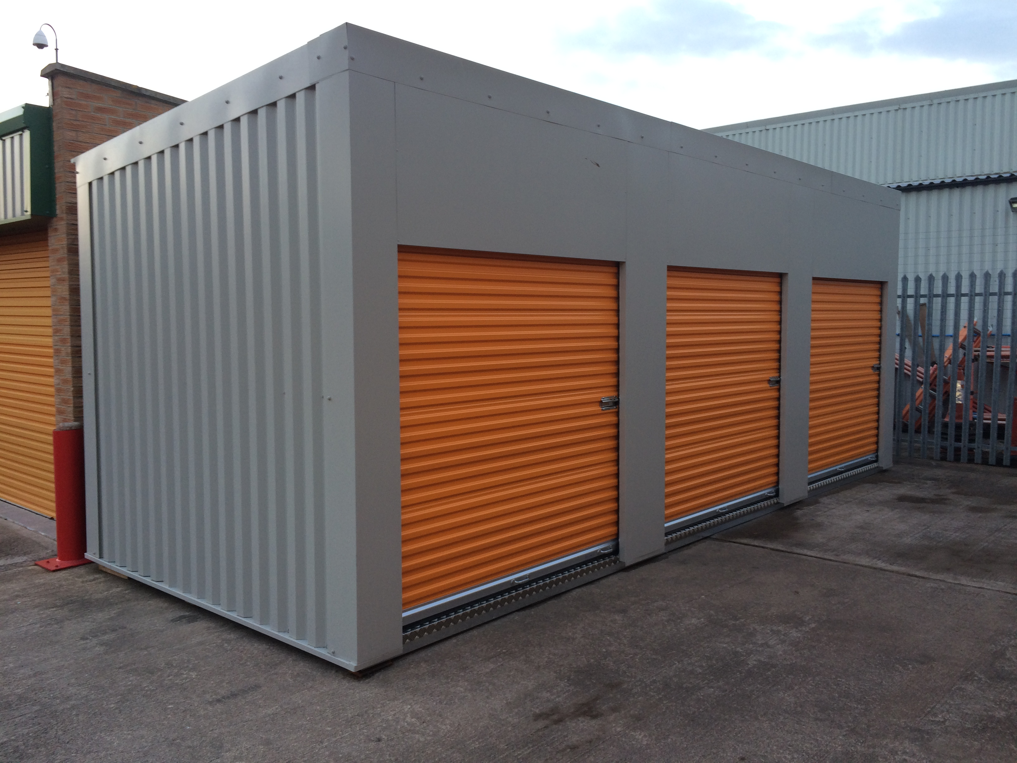 External Storage Units Partitioning Services Limited